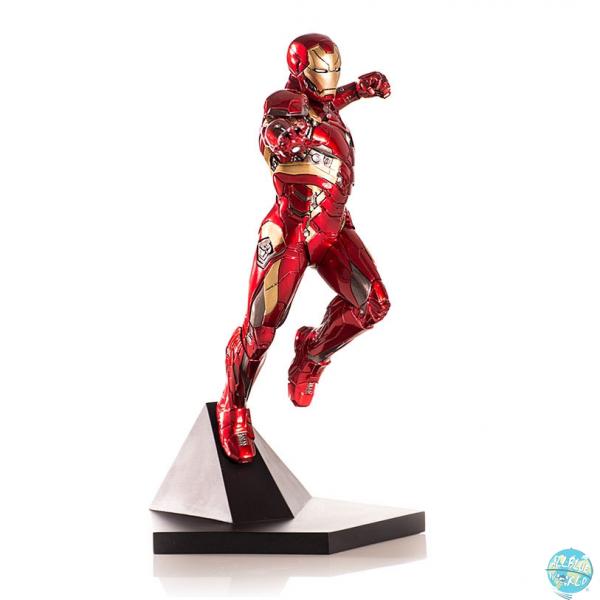 Captain America Civil War - Iron Man Mark XLVI Statue: Iron Studios