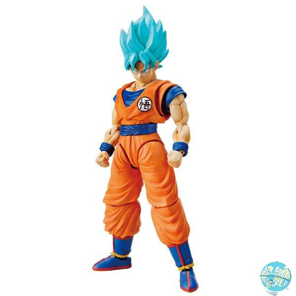 Dragonball Z - SSJ God SSJ Son Goku Model Kit - Figure-rise Standard Plastic Model Kit: Bandai