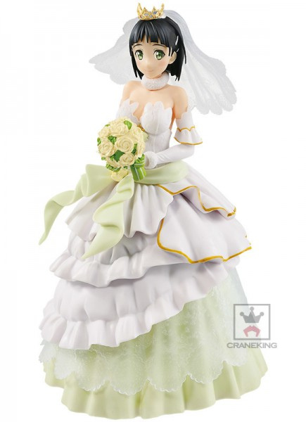 Sword Art Online Code Register - Sughua Figur / EXQ - Wedding Version: Banpresto