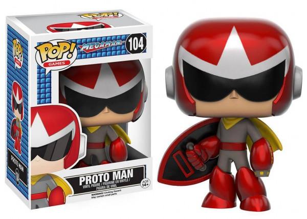 Mega Man - Proto Man Figur - POP: Funko