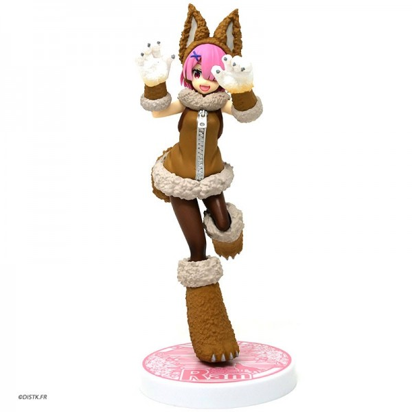 Re:Zero Starting Life in Another World - Ram Figur / Wolf and Seven Little Goats: Sega