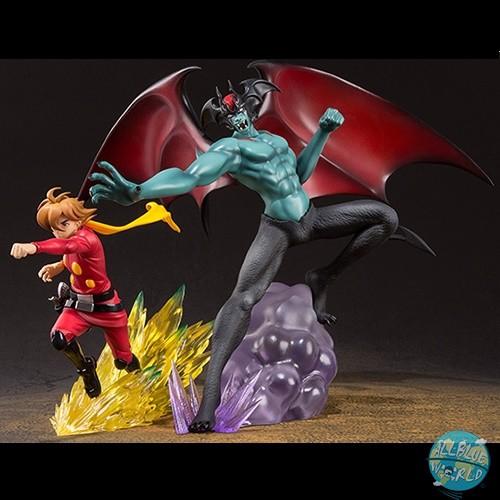 Devilman - Cyborg009 vs Devilman Statue - FiguartsZERO: Bandai