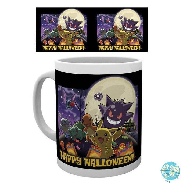 Pokemon - Tasse - Happy Halloween Motiv: GYE