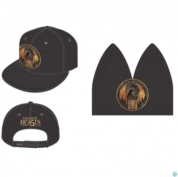 Harry Potter - Hip Hop Cap / Fantastic Beasts & Where To Find Them