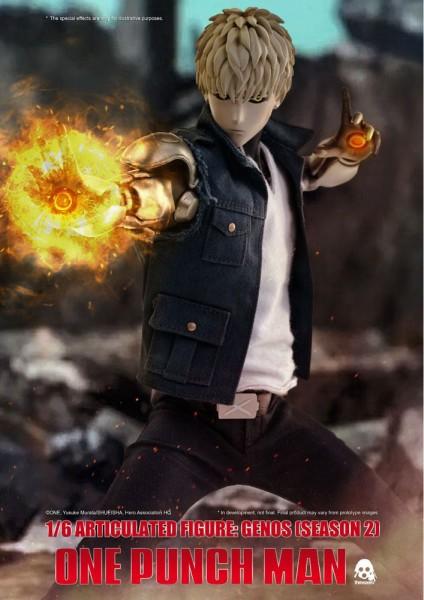 One Punch Man - Genos Actionfigur / 2nd Season Version: ThreeZero