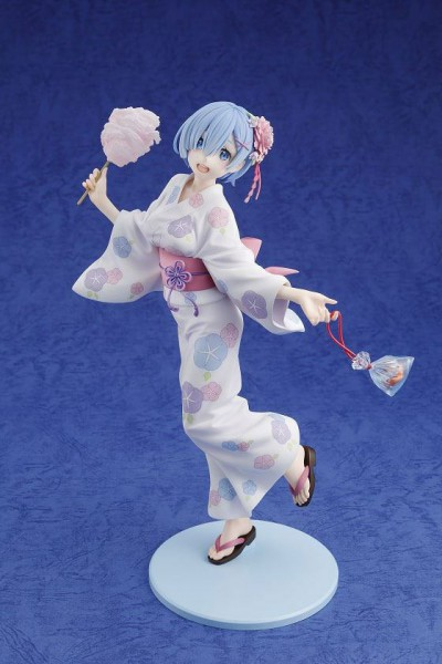 Re:ZERO -Starting Life in Another World - Rem Statue / Yukata Version: Kadokawa