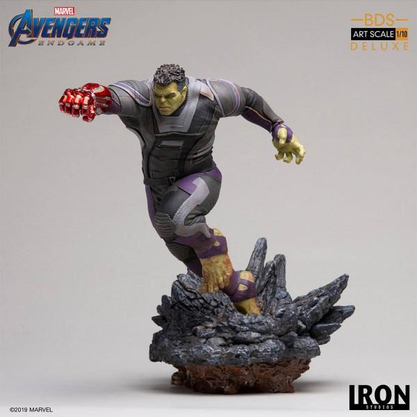 Avengers: Endgame - Hulk Statue / BDS Art - Deluxe Version: Iron Studios