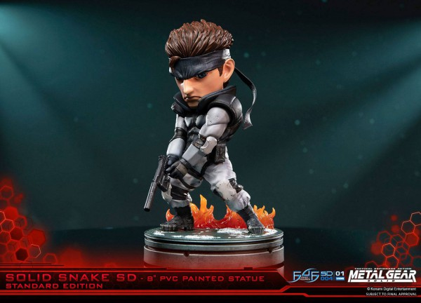 Metal Gear Solid Solid Snake Allblue World Anime Figuren