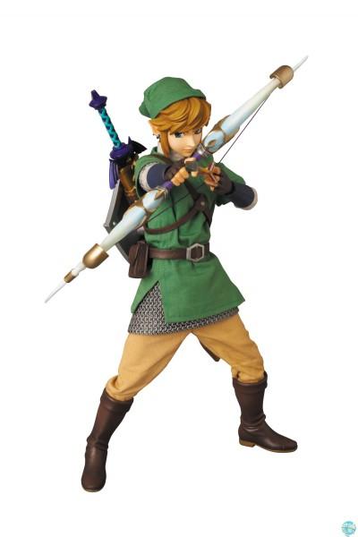 The Legend of Zelda Skyward Sword - Link Actionfigur - RAH [LEICHT BESCHÄDIGTE VERP.]: Medicom