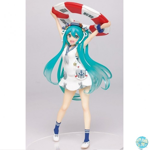 Vocaloid Project Diva - Hatsune Miku Figur / Original Summer Clothes Version: Taito